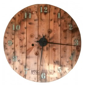 Klok van hout