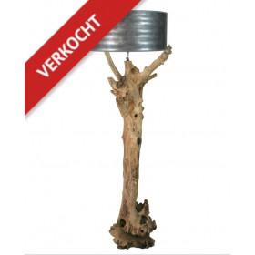 Vloerlamp java wood -01