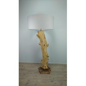 Vloerlamp java wood