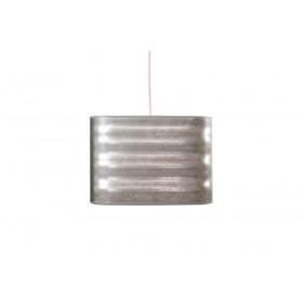Lampenkap metaal look 3D vierkant 50 cm