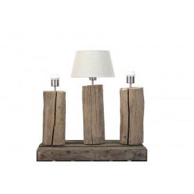 Tafellamp oud eiken