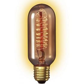Calex decospiraal buislamp 40W E27 gold tint 45x110mm