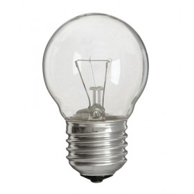 Gloeilamp kogellamp 15W E27 230V