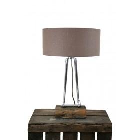 Voorvork staal Tafellamp chroom Lock