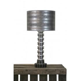 Tafellamp metaal  59 cm totaal
