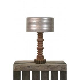 Tafellamp metaal roest 54 cm totaal