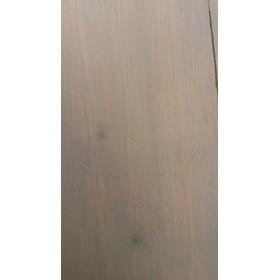 Massief houten vloerlamp kleur grey wash
