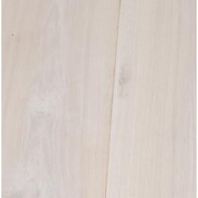 Massief houten vloerlamp kleur white wash